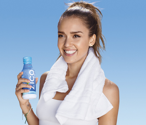 Surprise! Jessica Alba wears AV Max for her ZICO campaign. Totally unexpected but very appreciated.