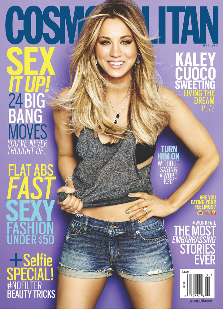Let's just say the our cheering was heard from a mile away. This one was absolute gold for RMC. (Jason of Beverly Hills on Kaley Cuoco for Cosmo Mag cover)